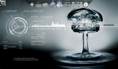 conky manager themes kali linux noobs guide to linux install conky lucid in ubuntu linux
