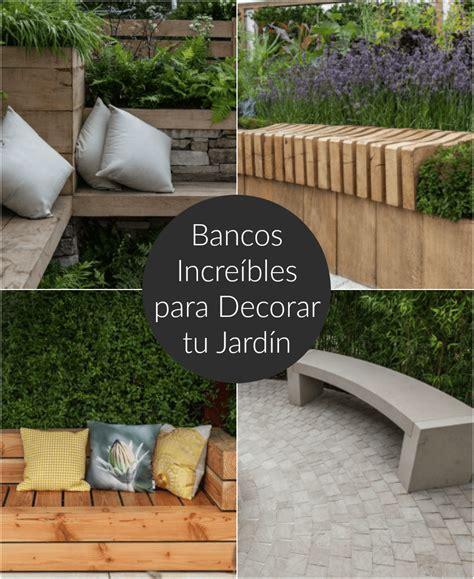 decorar patio con bancos bancos incre 237 bles para decorar tu jard 237 n