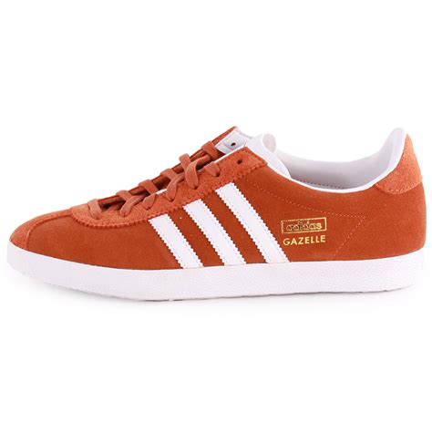 adidas size adidas gazelle og womens suede mustard trainers new shoes