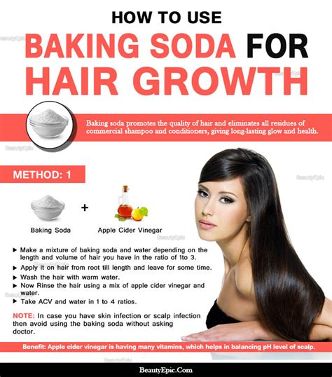 How To Detox Your Hair With Baking Soda by Does Apple Cider Vinegar Increase Hair Growth Hairsstyles Co