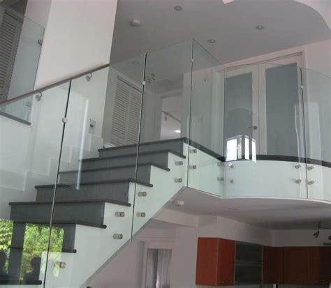 desain interior rumah idaman railing kaca tangga railing kaca railling balkon