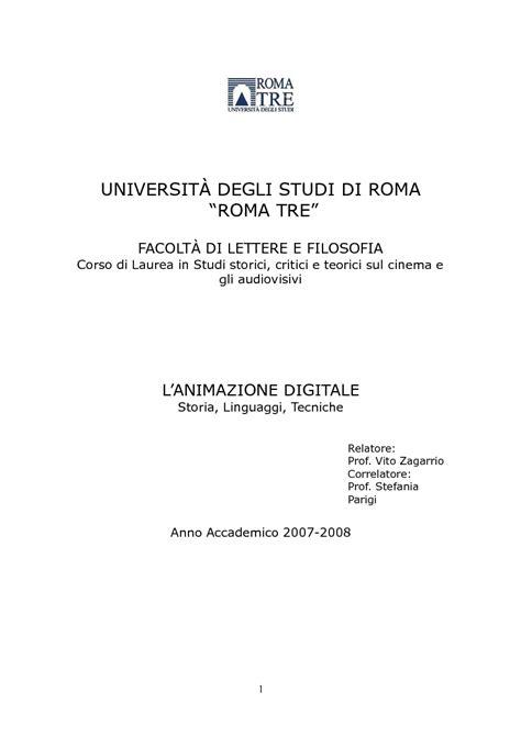 universit 192 degli studi di roma roma tre facolt 192 di