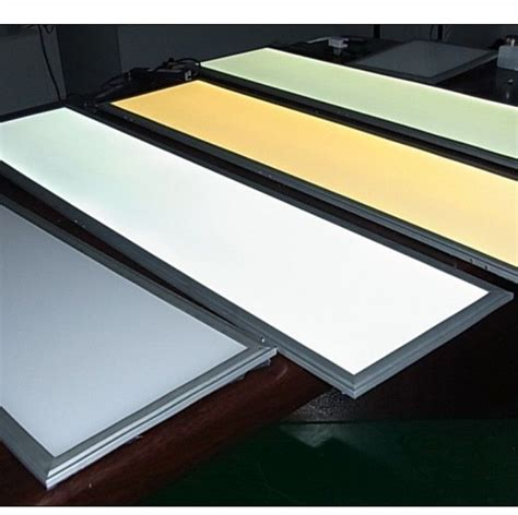 aluminum 40w led flat panel light high power warm white