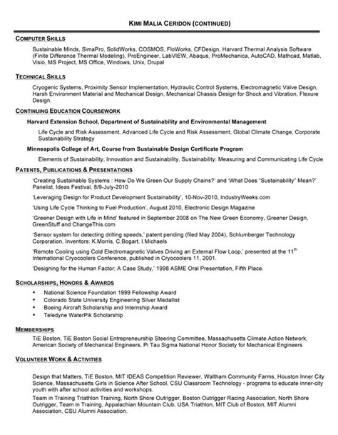 resume sles for design engineers mechanical mechanical sales engineer resume