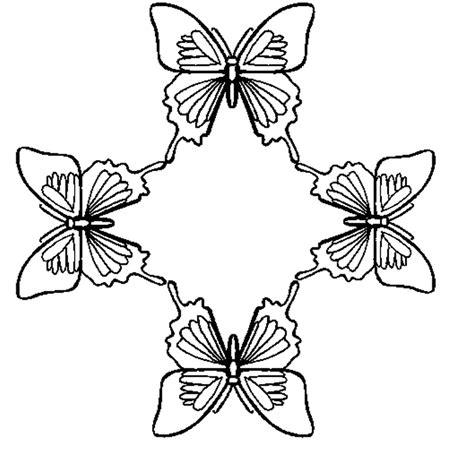 Large Butterfly Coloring Pages L L L L L L L
