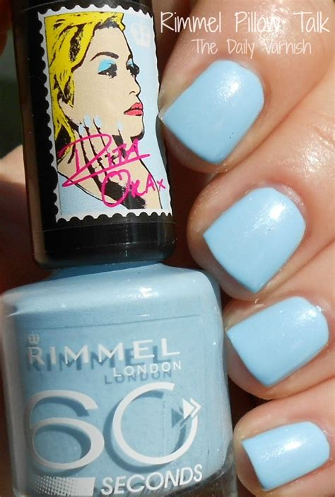 Rimmel Pillow Talk by Rimmel 60 Seconds Pillow Talk By Ora The Daily