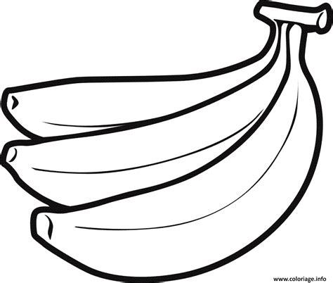Coloriage Bananes Fruit Dessin Coloriage Banane Et Dessin Coloriage Banane Et Dessin Bananedessin L