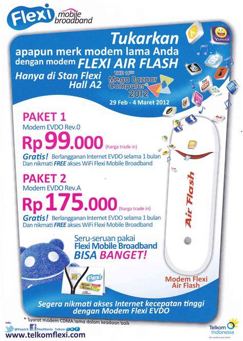 Modem Aha Air Flash pc bo ongan daftar lengkap promo menarik mega bazaar 2012 part 2