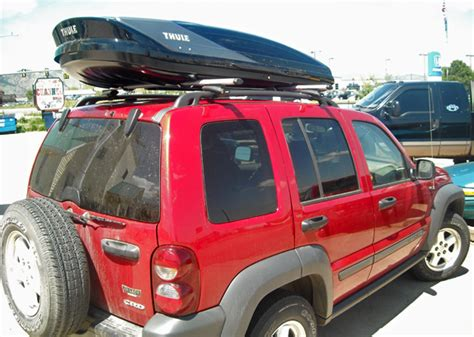 roof rack for jeep liberty jeep liberty rack installation photos