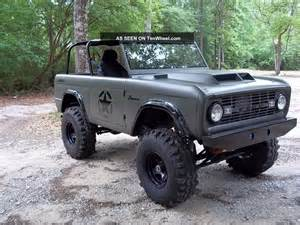 1977 ford bronco tribute sarge 77
