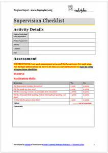 Design Options For Home Visiting Evaluation by Supervision Checklist Template Tools4dev