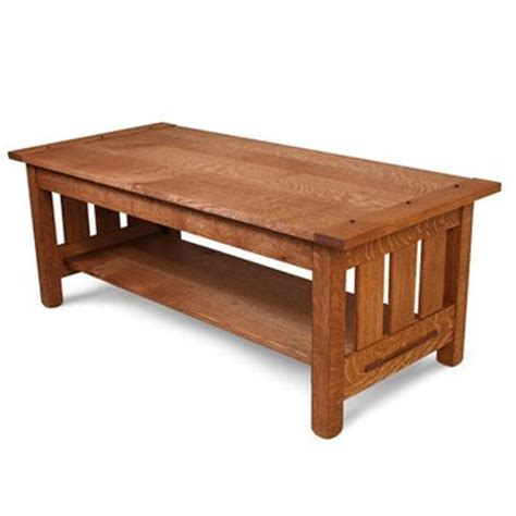 Build An Arts And Crafts Coffee Table Woodwork Arts And Crafts Coffee Table