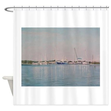 blue white shower curtain blue white shower curtain by pattyweeks