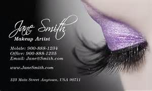 Makeup Artists Business Cards Cosmetology Make Up Artist Business Card Design 601111