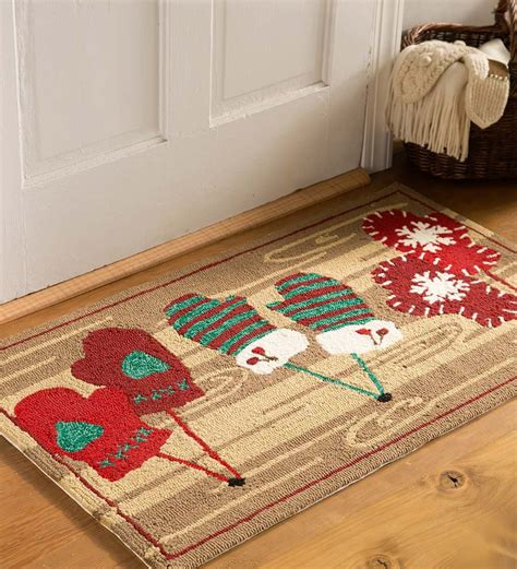 small accent rugs festive mittens indoor outdoor accent rug small accent rugs