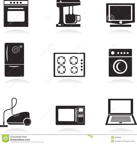 Play Kettle And Toaster Set Home Electrical Appliances Set Royalty Free Stock Photo