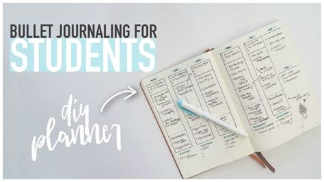 bullet journaling for students a bullet journaling for students diy back to school
