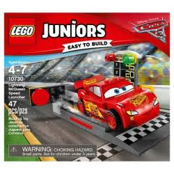 Lightning Mcqueen Car Launcher Lego 174 Juniors Disney Pixar Cars 3 Lightning Mcqueen Speed