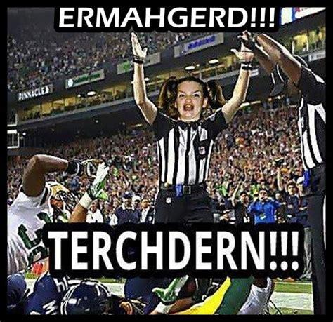 Football Season Meme - meme of replacement referees during nfl referee s strike