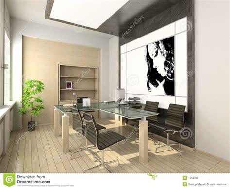 design interior hi tech design of modern office hi tech interior stock photo