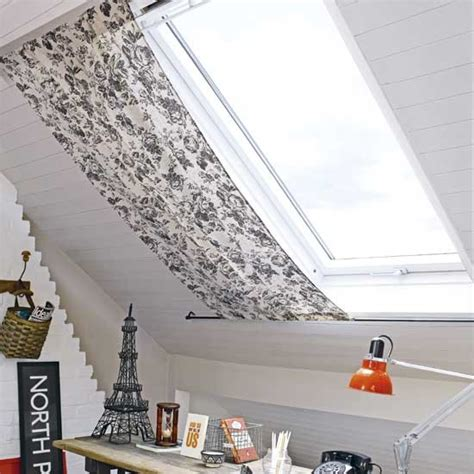dachfenster gardinen home office with roof blind home offices design ideas