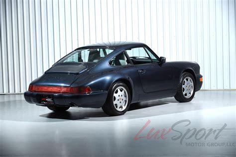 1990 porsche 911 carrera 2 1990 porsche 964 carrera 2 coupe carrera stock 1990162