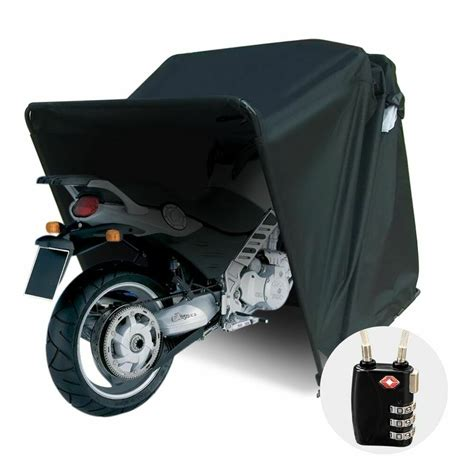 quictent heavy duty motorcycle shelter shed tourer cover