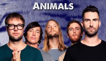 makna  arti terjemahan lirik lagu animals maroon