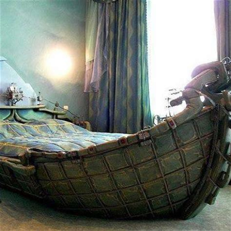 boat made into bed old wooden boat made into a bed canoe kayak boats