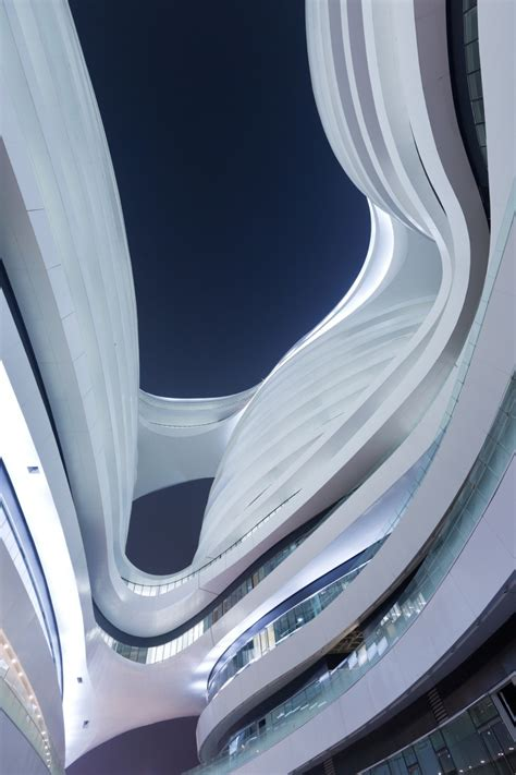 zaha hadid modern architecture galaxy soho zaha hadid architects updated the superslice