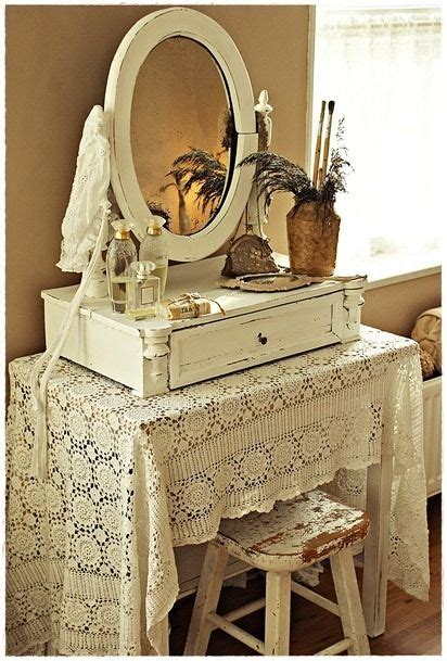 Shabby Table Cloth Pink Lace 2 best 25 vintage dressing tables ideas on