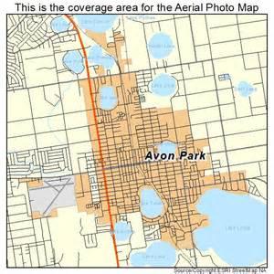 aerial photography map of avon park fl florida