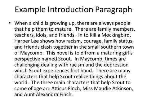 themes in to kill a mockingbird growing up to kill a mockingbird literary analysis essay ppt video