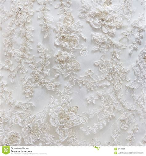 wedding background texture background texture of white fabric with embroidery stock
