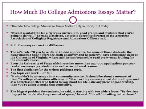 College Application Essay Help Colleges That Require Essays For Admission