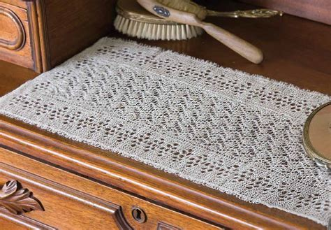 free knitting patterns for table runners redecorate your home with these clever knitted home decor