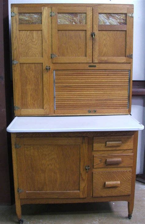 vintage kitchen hoosiers   Antique Oak Kitchen Maid