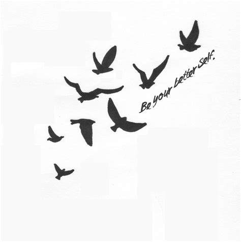 simple bird tattoos designs flying quotes for tattoos quotesgram