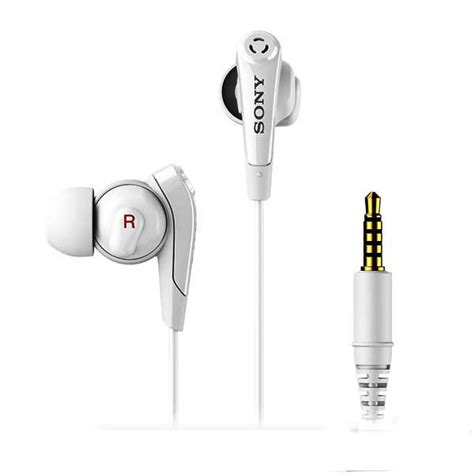 Headset Sony Mdr Nc31em sony mdr nc31em noise cancelling headphones white