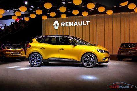 renault geneva 2016 renault scenic unveiled at geneva motor