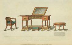 fauteuil toilette 1809 on regency era regency and fashion plates