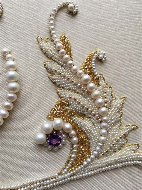 17 best ideas about pearl embroidery on beaded