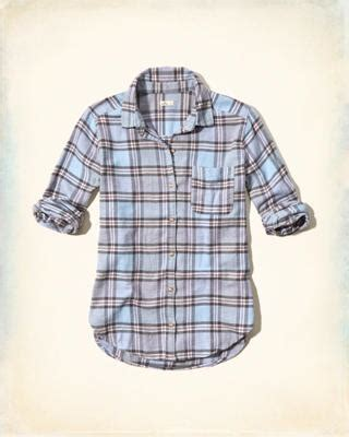 Hollister Classic Cropped Shirt shirts blouses tops eu hollisterco