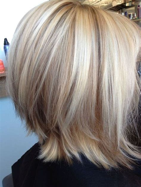 medium length hair style low lights dium blonde hairstyles with lowlights images new