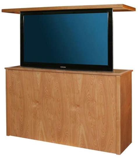 hidden tv lift cabinet danish modern tv lift cabinet with swivel a up to 40