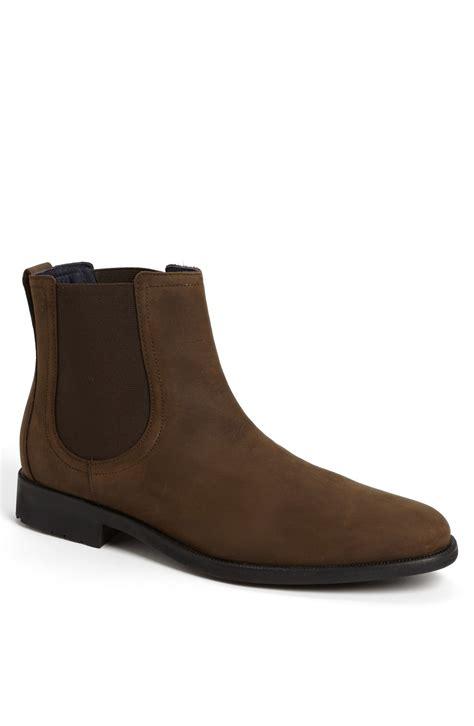 cole haan stanton chelsea boot in brown for
