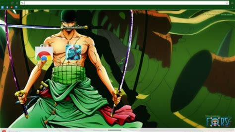 theme chrome zoro op theme 1 chrome theme themebeta