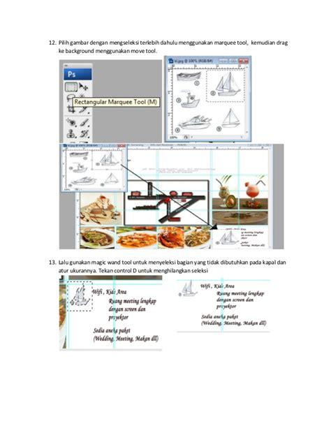 membuat brosur rumah makan langkah membuat brosur by nilam sari