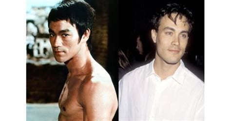 bruce lee daughter biography brandon lee when he was young bruce lee brandon lee