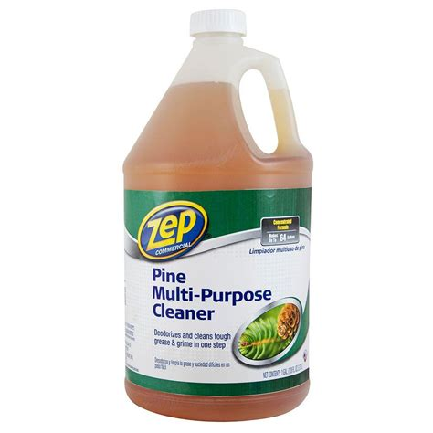 zep 128 oz pine multi purpose cleaner of 4